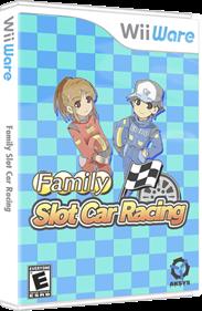 Family Slot Car Racing - Box - 3D