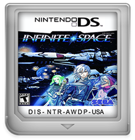 Infinite Space - Fanart - Cart - Front
