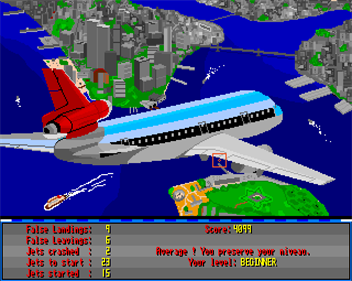 Airport - Screenshot - Game Over