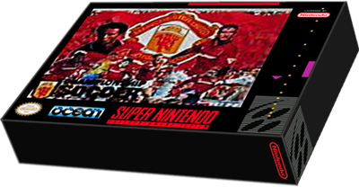 Manchester United Championship Soccer - Box - 3D