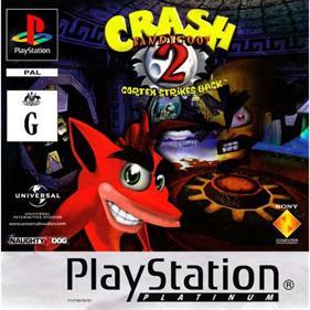 Crash Bandicoot 2: Cortex Strikes Back - Box - Front