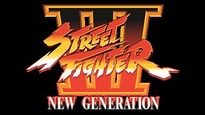 Street Fighter III: New Generation - Clear Logo