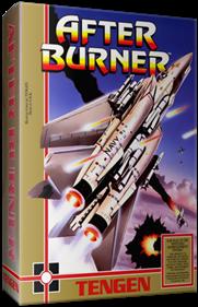 After Burner - Box - 3D