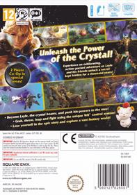 Final Fantasy Crystal Chronicles: The Crystal Bearers - Box - Back