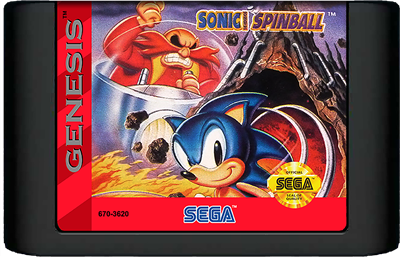Sonic the Hedgehog Spinball - Cart - Front