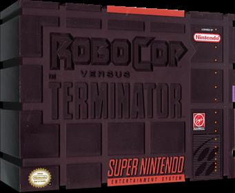 RoboCop Versus The Terminator - Box - 3D
