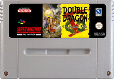 Double Dragon V: The Shadow Falls - Fanart - Cart - Front