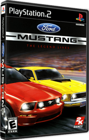 Ford Mustang: The Legend Lives - Box - 3D