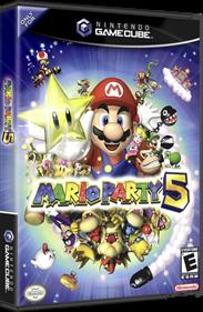 Mario Party 5 - Box - 3D