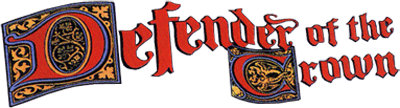 Defender of the Crown - Clear Logo