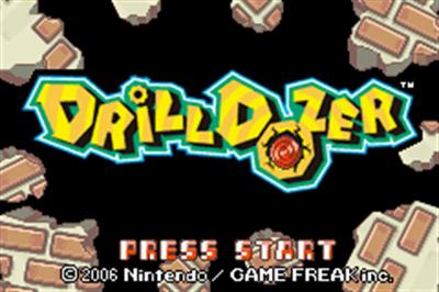 Drill Dozer - Screenshot - Game Title