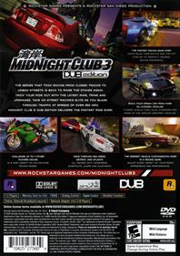 Midnight Club 3: DUB Edition - Box - Back