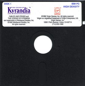 The Legend of Kyrandia: Book One - Disc