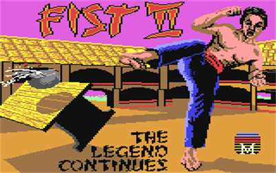 Fist: The Legend Continues - Screenshot - Game Title