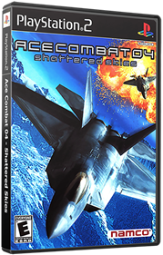 Ace Combat 04: Shattered Skies - Box - 3D