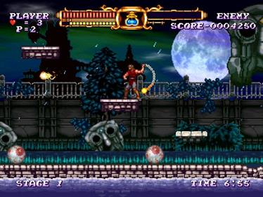 Castlevania: The Adventure ReBirth - Screenshot - Gameplay