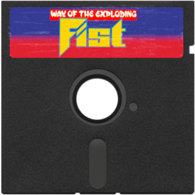 Kung-Fu: The Way of the Exploding Fist - Fanart - Disc