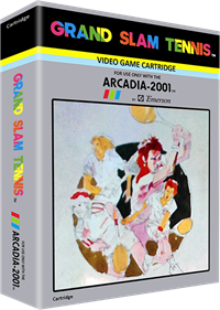 Grand Slam Tennis - Box - 3D