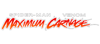 Spider-Man & Venom: Maximum Carnage - Clear Logo
