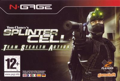 Tom Clancy's Splinter Cell: Team Stealth Action  - Box - Front