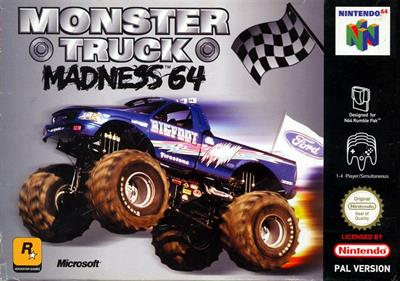 Monster Truck Madness 64 - Box - Front