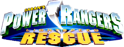Power Rangers: Lightspeed Rescue - Clear Logo