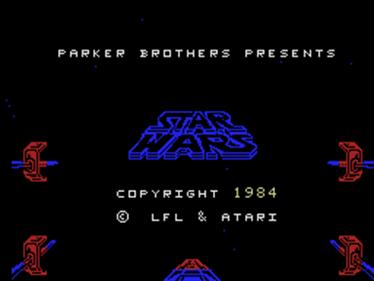 Star Wars: The Arcade Game - Screenshot - Game Title