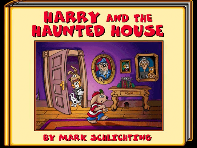 Living Books: Harry and the Haunted House Details