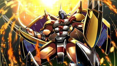 Digimon Battle Spirit - Fanart - Background