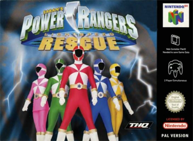 Power Rangers: Lightspeed Rescue - Box - Front