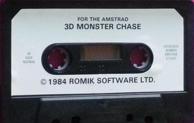 3-D Monster Chase - Cart - Front