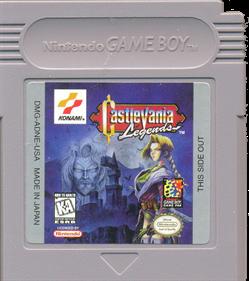 Castlevania Legends - Cart - Front