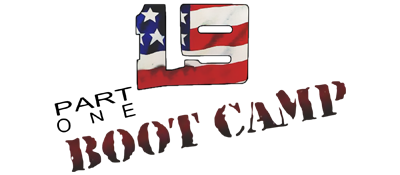 19 Part One: Boot Camp - Clear Logo