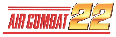Air Combat 22 - Clear Logo