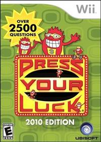 Press Your Luck: 2010 Edition
