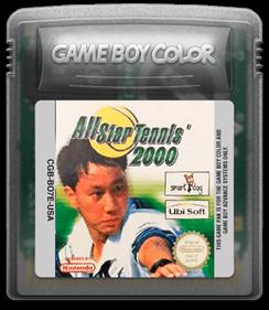 All Star Tennis 2000 - Fanart - Cart - Front