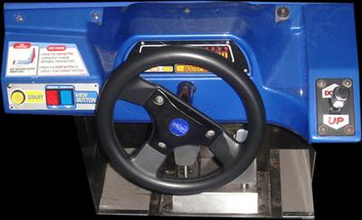 Indy 500 - Arcade - Control Panel