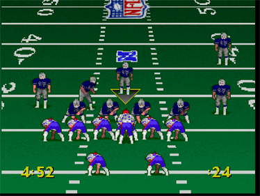 Troy Aikman NFL Football - Screenshot - Gameplay