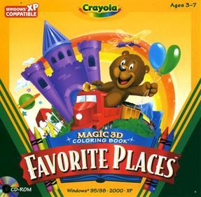 Crayola Magic 3D Colouring Book: Favourite Places