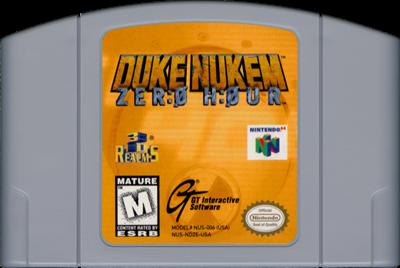 Duke Nukem: Zero Hour - Cart - Front