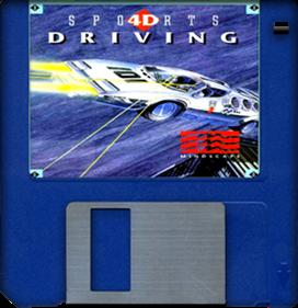 4D Sports Driving - Fanart - Disc