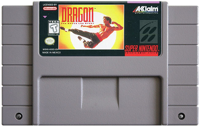Dragon: The Bruce Lee Story - Fanart - Cart - Front