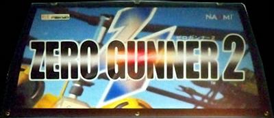 Zero Gunner 2 - Arcade - Marquee