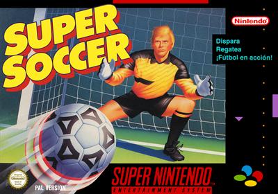Super Soccer - Box - Front
