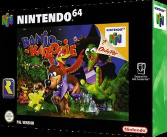 Banjo-Kazooie - Box - 3D