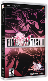 Final Fantasy II - Box - 3D