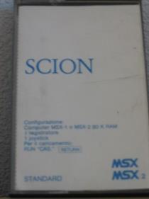 Scion - Box - Front