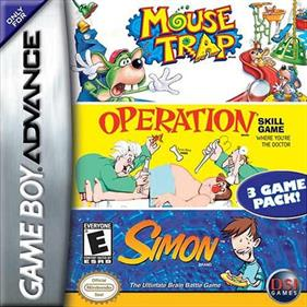 3 Game Pack!: Mouse Trap + Simon + Operation