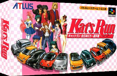 Kat's Run: Zen-Nippon K-Car Senshuken - Box - 3D