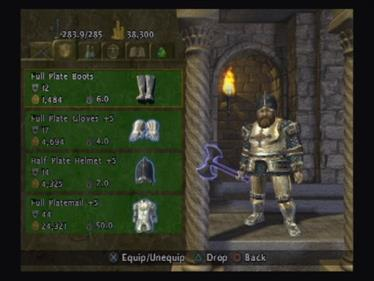 Baldur's Gate: Dark Alliance - Screenshot - Gameplay